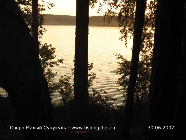 рыбалка на озере малый сунгуль