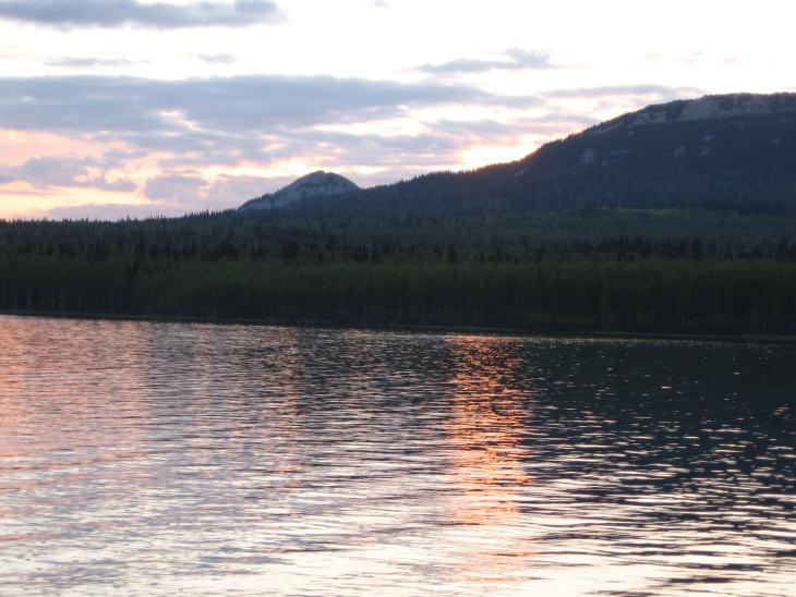Рыбалка в Челябинской области - Озеро Зюраткуль