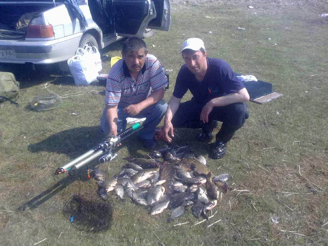 Озеро Айдыкуль. Результаты рыбалки.