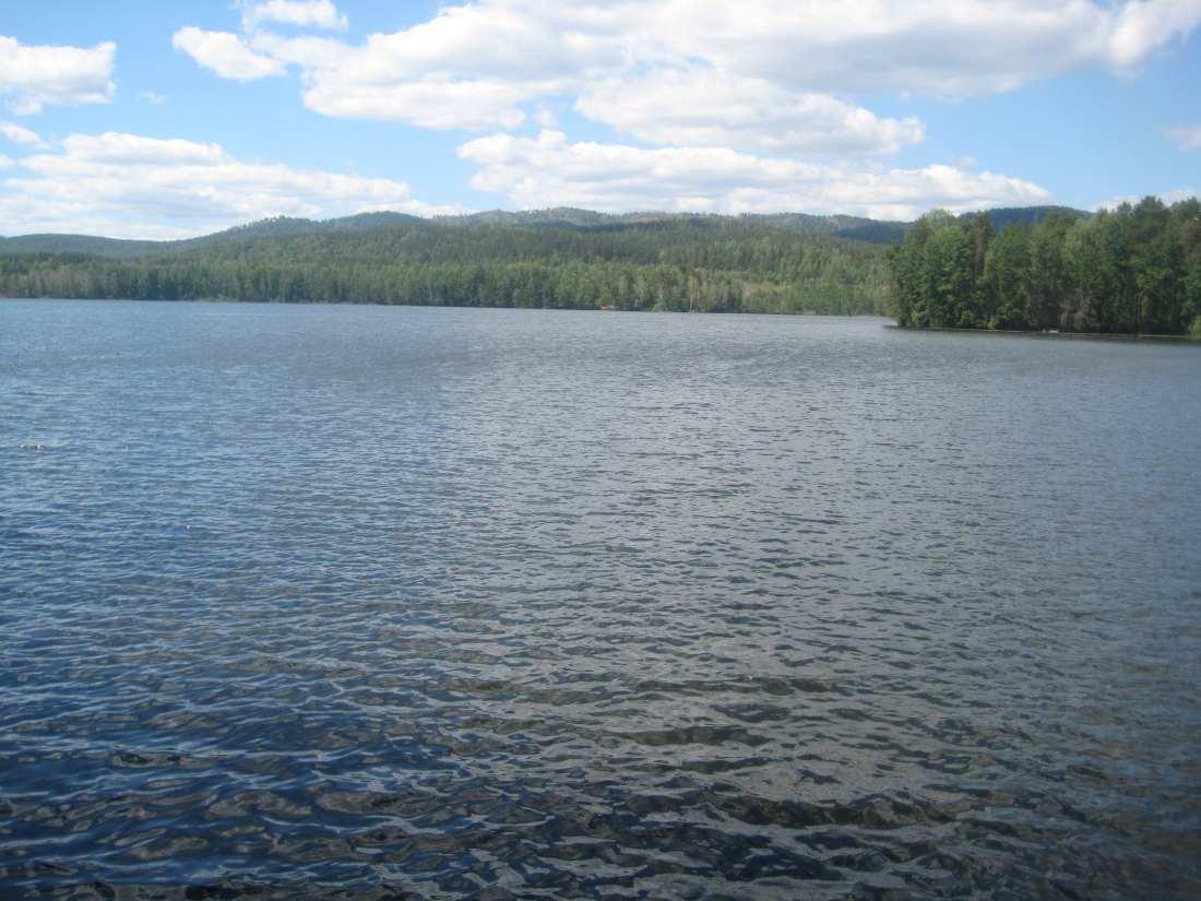 Озеро Долгое. Фото Дена.